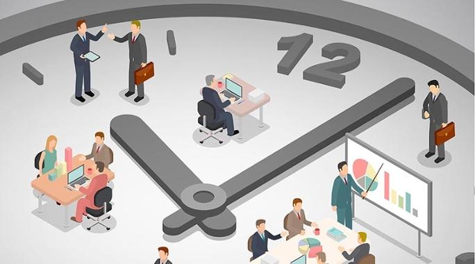 Organize seu tempo no trabalho